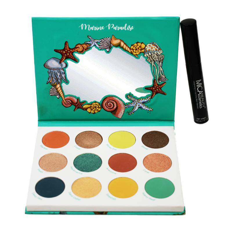 Buy Any Eye shadow Palette and get a FREE Mascara