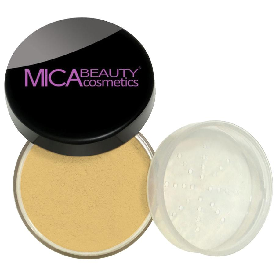 Natural Glow Loose Mineral Foundation Powder - Gold Sand