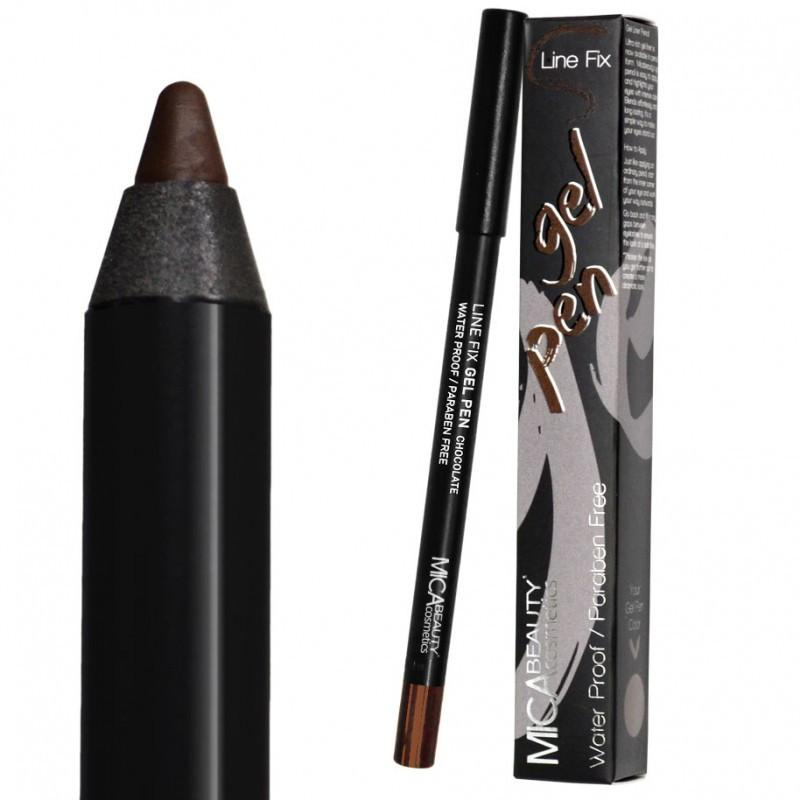 Line Fix Gel Pen - Chocolate