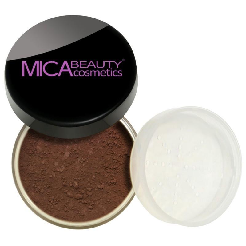 SAMPLE SIZE - MF13 - Loose Mineral Foundation Powder - Cocoa