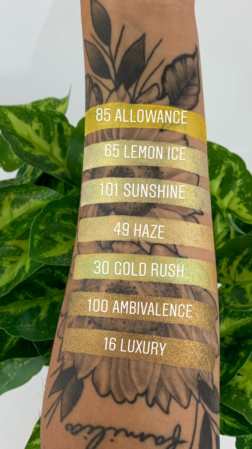 Loose Mineral Eyeshadow - Lemon Ice