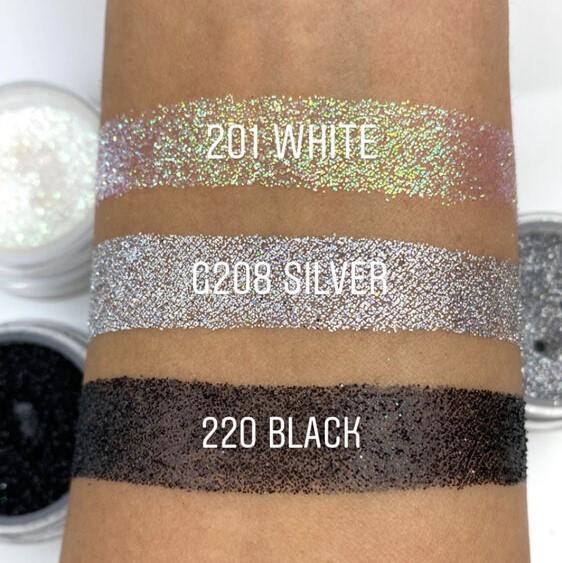 Glitter Powder - Black
